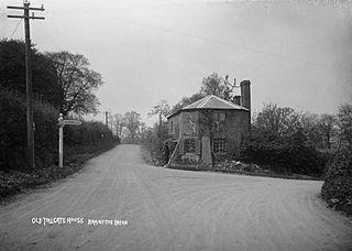 Old tollgate house Brampton Brian