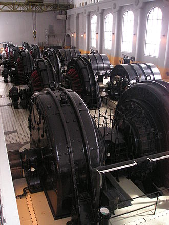 Norsk Hydro Rjukan - Turbines in the Vemork power station