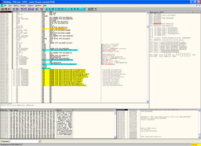 Сейчас я перечислю самые распространенные плагины для OllyDbg 1.10, которые