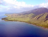 A view of Olowalu