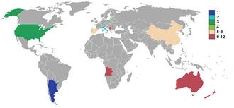 Basketball at the 2004 Summer Olympics – Men's qualification - 2004 men's teams.