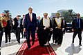 Omani Foreign Minister Yusuf bin Alawi Escorts Secretary Kerry as he Arrives at the Ministry of Foreign Affairs in Muscat (22798781058).jpg