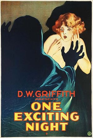 One Exciting Night - 1922 lobby poster