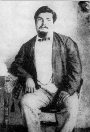 Bully Hayes - The only known photograph of Bully Hayes, circa 1863