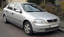 Astra G Sedan (1998–2004)