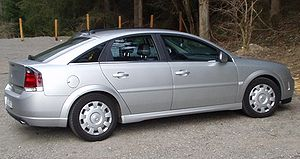 Car platform - Opel Vectra C