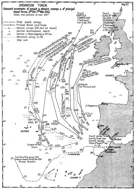operation torch North africa campaigns - operation torch: the anglo-us invasion of northwest  africa had its origins at the arcadia conference in washington, dc, in the.