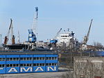 Ophelia in the Dock 1 in Lahesuu sadam Tallinn 24 March 2014.JPG