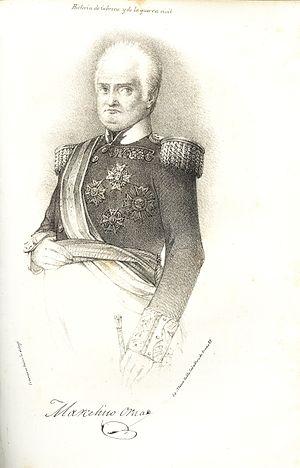 First Battle of Arquijas - Marcelino de Oraá Lecumberri