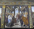 Oratorio superiore di s. bernardino, sodoma, presentazione di maria al tempio.JPG