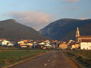 Orbiso Village in Basque Country, Spain