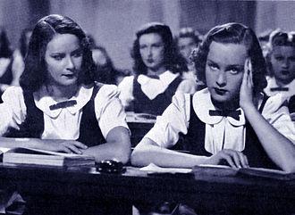 Schoolgirl Diary - Alida Valli and Irasema Dilián