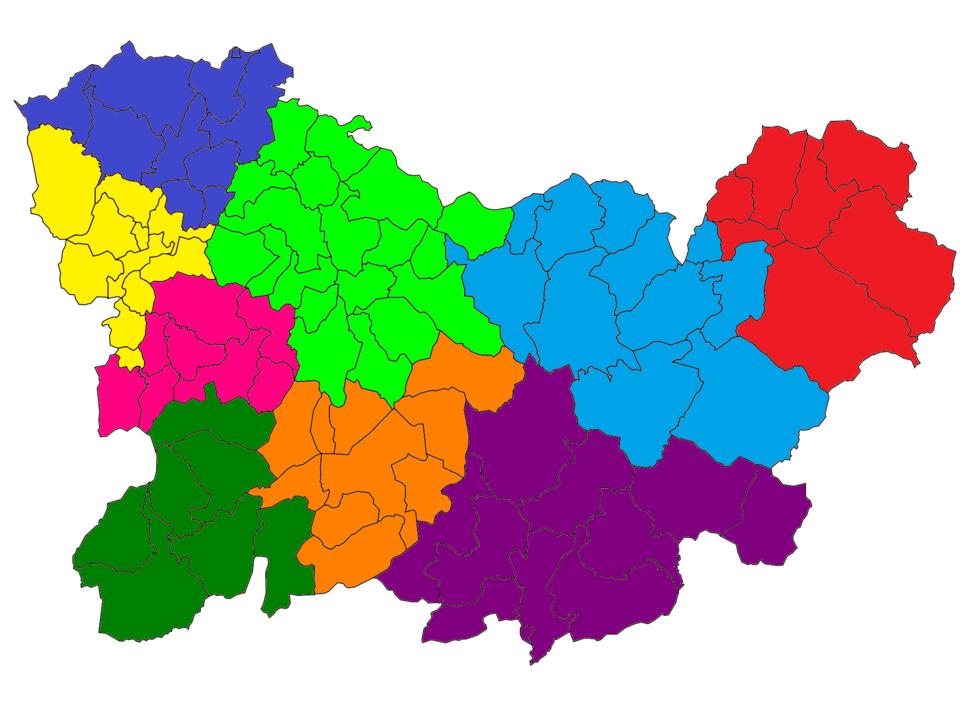 Orense - Mapa judicial