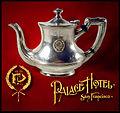 Original Palace Hotel (SF) crest, logotype, & teapot.jpg