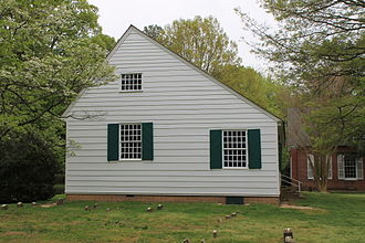 Talbot County, Maryland - (Third Haven Meeting House c.1682)
