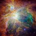 Orion Nebula - new image from Hubble ^ Spitzer - Flickr - Mr. Physics.jpg