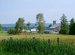 Scena rurale vicino a Mount St. Louis