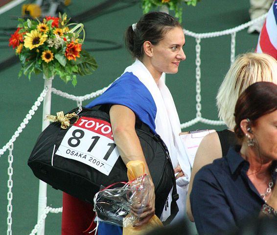 Елена Исинбаева получила премию «Женщина года Монте-Карло»
