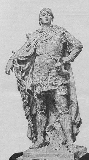 Otto I, Margrave of Brandenburg - Monument in Berlin to Otto I