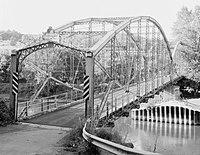Ouaquaga Bridge, Dutchtown Road, spanning Susquehanna River, Ouaquaga (Broome County, New York).jpg