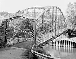 Ouaquaga Bridge, Dutchtown Road, spanning Susquehanna River, Ouaquaga (Broome County, New York).jpg