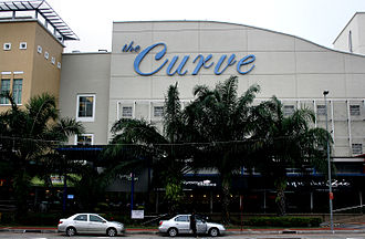 The Curve (shopping mall) - Image: Outside The Curve 2