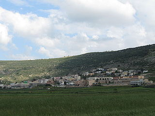 Uzeir Place in Northern, Israel