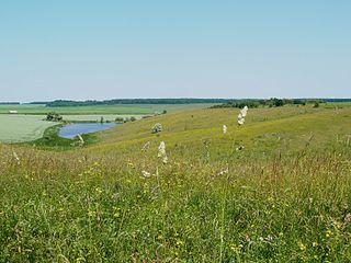 Hnylyi Tikych river in Ukraine