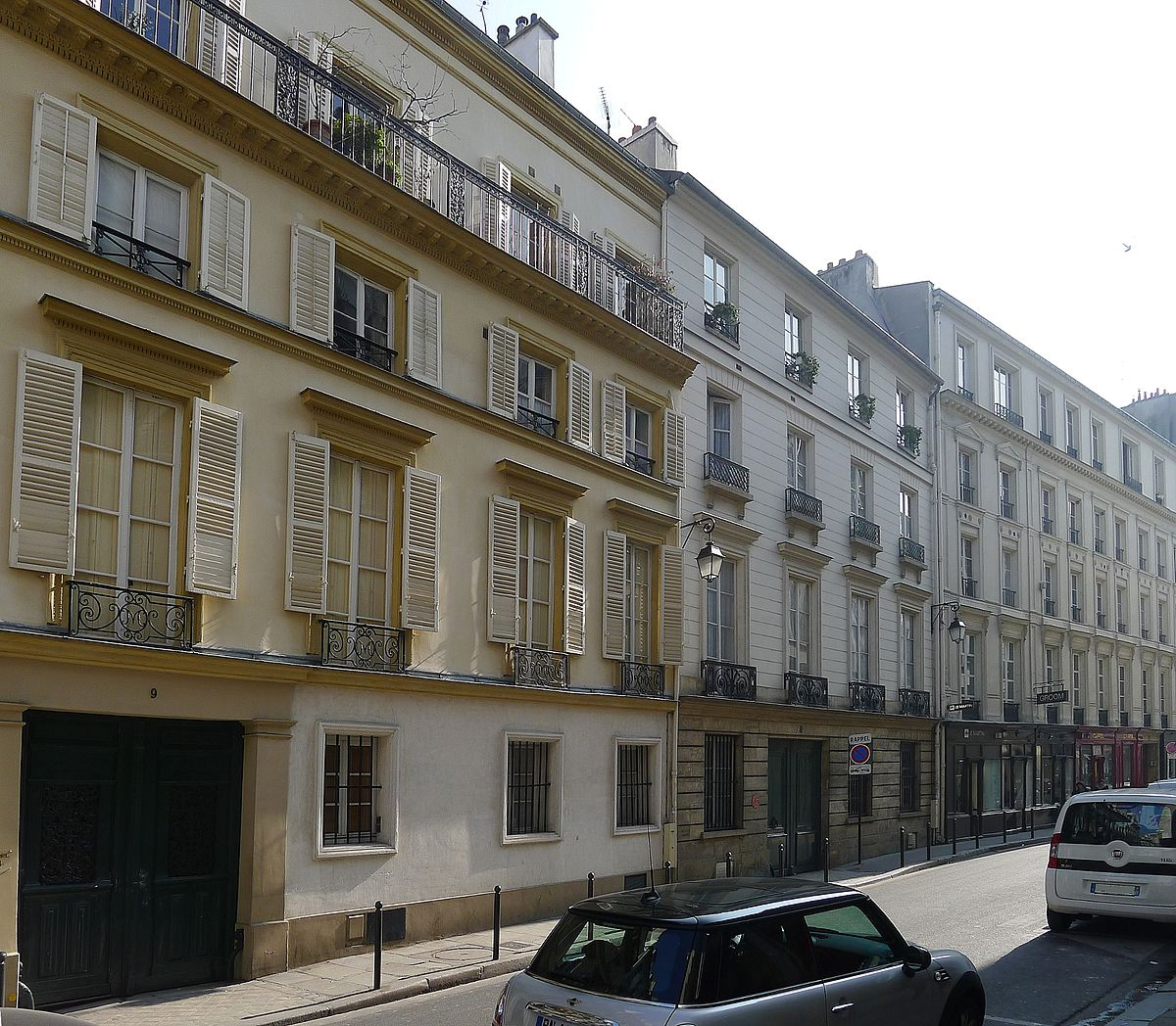 Rue du cherche midi wikip dia for Cherche hotel