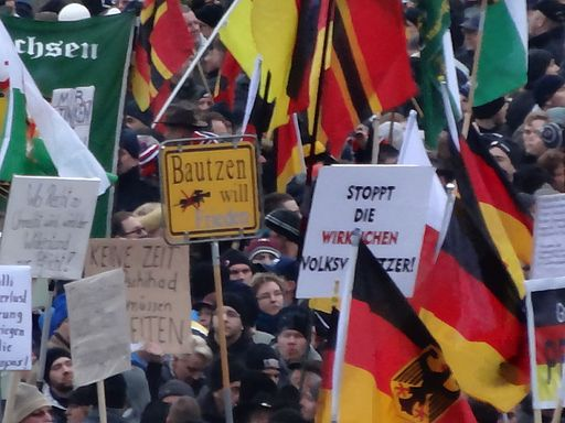 PEGIDA Demo DRESDEN 25 Jan 2015 116139740