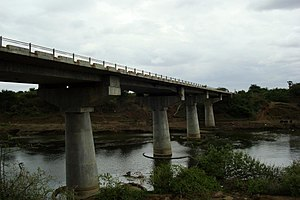 Pulgaon - Express Highway Bridge over Wardha river near Pulgaon