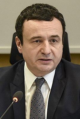 Albin Kurti Kosovar politician; Prime Minister of Kosovo (2020, 2021-)
