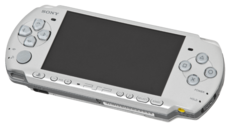 Silver PSP-3000