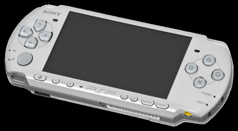 consola plateada psp 3000