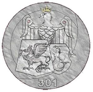 No. 301 Polish Bomber Squadron - Emblem of No. 301 Squadron