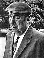Pablo Neruda, Nobel Prize for Literature (1971).