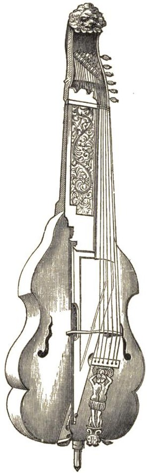 Baryton - A six-stringed baryton