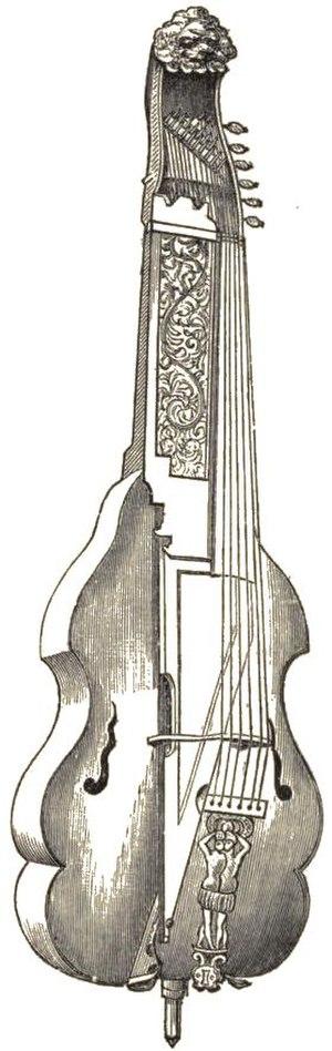 Baryton - A six-stringed baryton