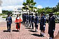 Palace of Justice Seychelles guard inspection.jpg