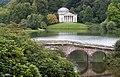 Palladian Bridge and Pantheon, Stourhead Gardens - Flickr - Brian Smithson (Old Geordie).jpg