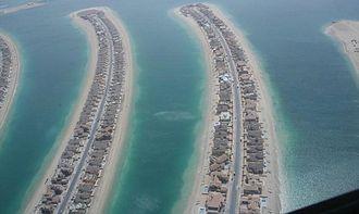Palm Jumeirah - Palm Jumeirah's Fronds