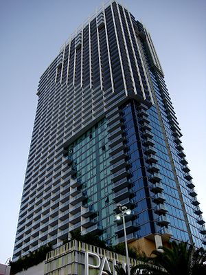 Palms Casino Resort - Palms Place tower in 2008