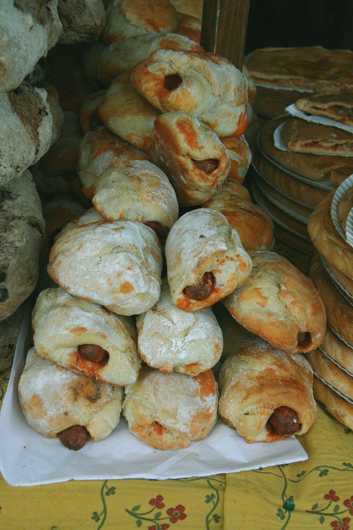 receta de pan de barra prenada