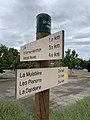 Panneau Randonnée Route Dommartin St Genis Menthon 1.jpg
