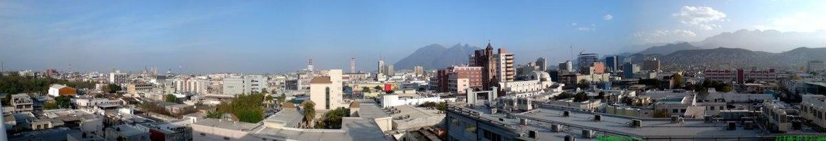 Foto panoramica de rayados 25