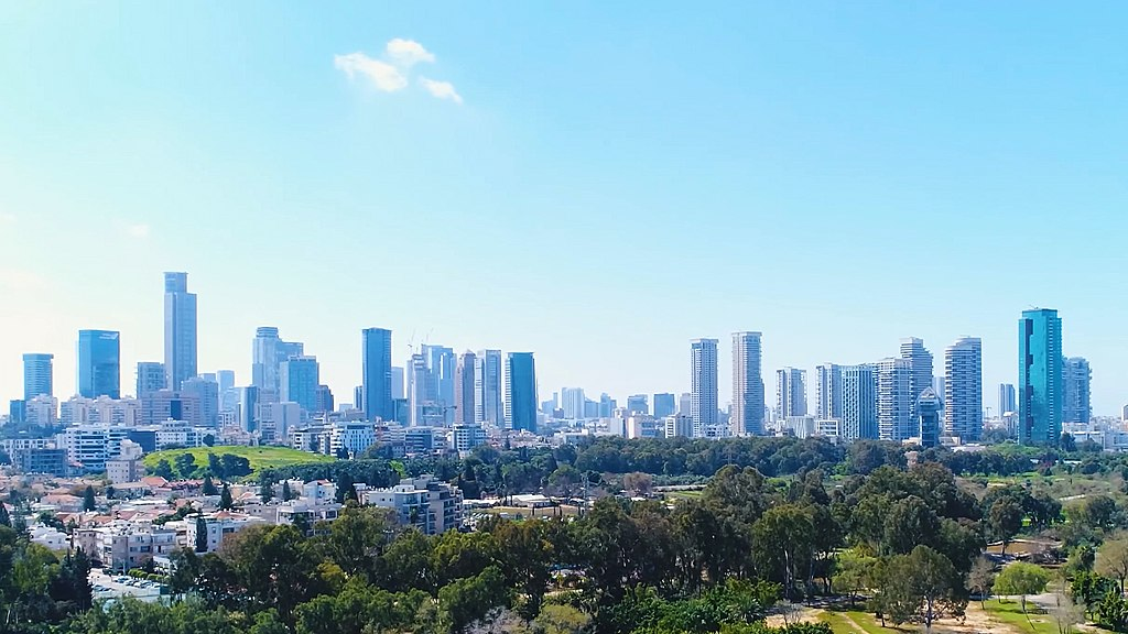 Panorama of Tel Aviv during the day
