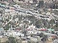 Panteón Santiago, Desde el Mirador del Cristo de las Galeras, Saltillo Coahuila - panoramio.jpg