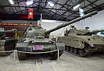 Panzer 61 (PZ-61) in the Musée des Blindés.jpg