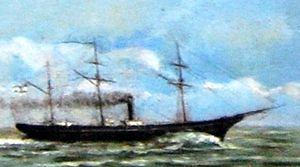 ARA Paraná (1874) - Image: Parana Silvestrini 1873 MNN
