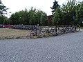 Pardubice, náměstí Jana Pernera, kola před nádražím (03).jpg